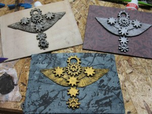 Clockwork Ankh - mini color samples